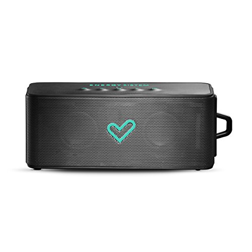 Energy Sistem Music Box Aquatic Bluetooth (Altavoz portátil Sumergible, 6W, Bluetooth, Manos Libres y batería Recargable)- Negro