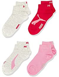 Puma Promo Lot de 3+1 Gratuit Invisibles Junior - Chaussettes - Fille
