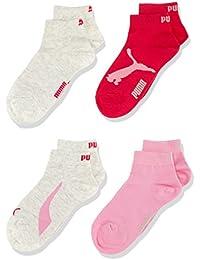 Puma 184006014 - Chaussettes de sport - Lot de 4 - Mixte Enfant