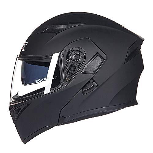 Peakedness Erwachsener Motocross-Helm, Vier Jahreszeiten-Motocross-Helm, Off-Road-Downhill-Pedalhelm für männliche Handschuhe,A,XL