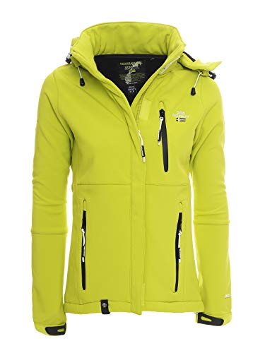Geographical Norway tehouda Mujer Softshell Chaqueta