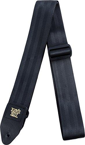 Sangle de ceinture de sécurité Ernie Ball 2'- Noire
