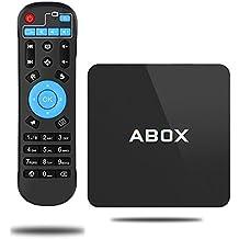 Android 6.0 TV Box,2017 Modello GooBang Doo ABOX Smart TV Box Amlogic S905X 64 Bits and Vero Riproduzione 4K