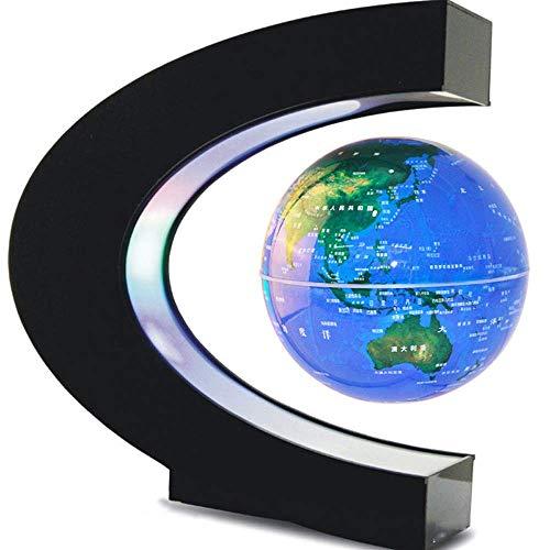 Förmigen Schreibtisch (Giow Dekoration C-förmigen Magnetschwebekugel 4 Zoll Rotation Schreibtisch)