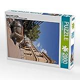 CALVENDO Puzzle Börse, Bulle und Bär 2000 Teile Lege-Größe 67 x 90 cm Foto-Puzzle Bild von Petrus Bodenstaff