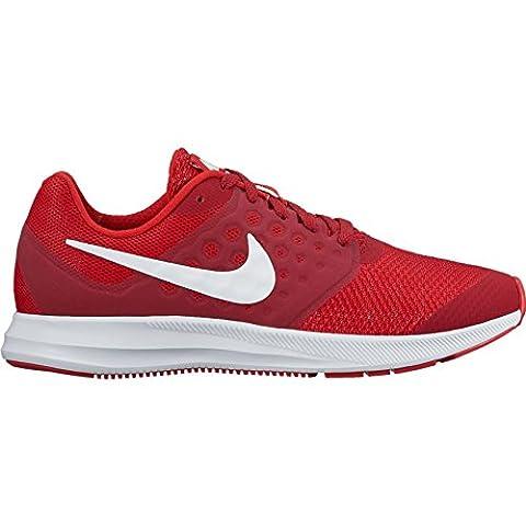 Nike Mädchen Downshifter 7 Gs Laufschuhe, Rot (Univ Red/White/Tough Red/Black), 36 EU