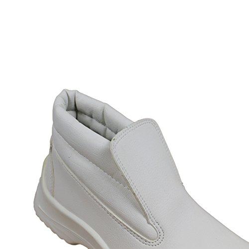 Ergos Vienne 4 S2 SRC Sicherheitsschuhe Arbeitsschuhe hoch Weiß B-Ware Weiß