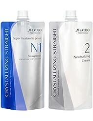 Fer à lisser Shiseido N1400ml + 400ml pour Neutralizer Crème naturel pour cheveux sensibles