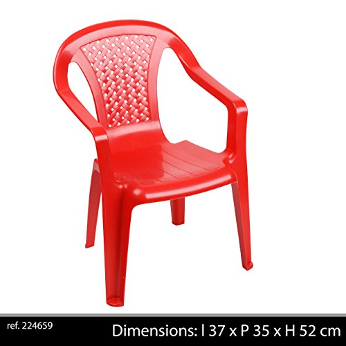 Fun Star Kindersessel Rot (Ve 60) 578004