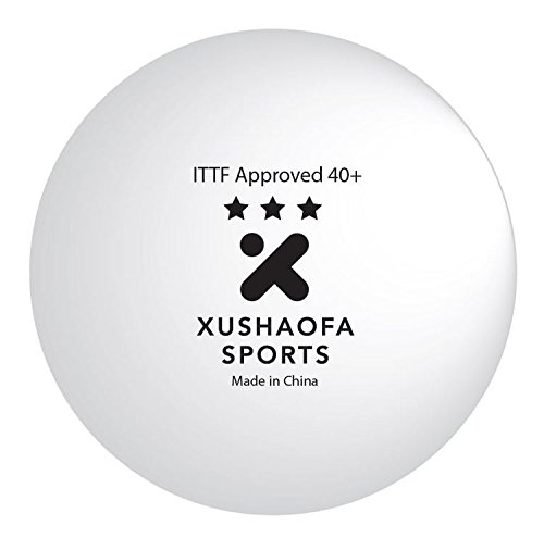 Pelotas tenis mesa Xushaofa/XSF 40+ sin costura 3