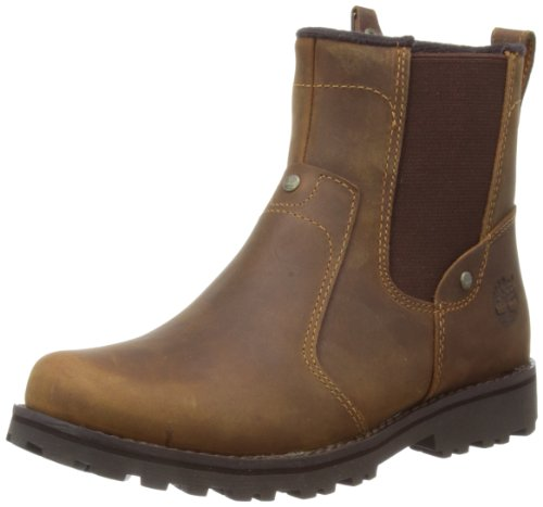 Timberland Asphalt Trail Jungen Chelsea Boots, Braun (Brown Smooth), 27 Gore Nylon Boot