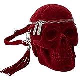 Killstar Schädel Handtasche - Grave Digger Skull Blutrot