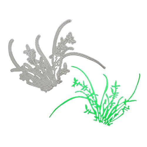 Xmiral Scrapbooking Stanzschablone Prägeschablonen,Bär Blumenfee Baby Blumen Gras(D)