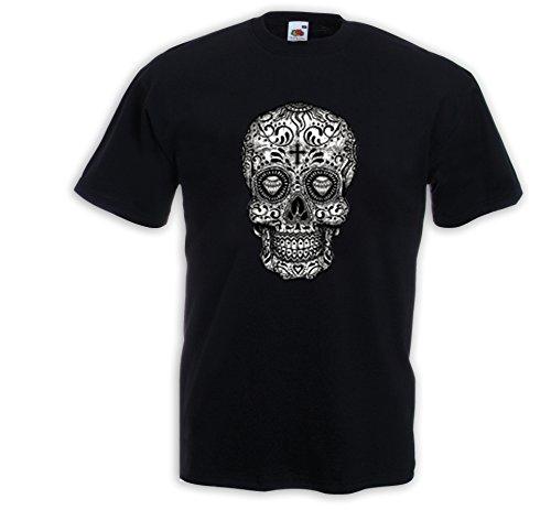 achi 4 Sugar Skull Rockabilly Dia de los Muertos Gr.XL (Sugar Skull Für Männer)