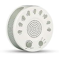 White Noise Machine - Sound Machine zum Schlafen & Entspannen -9 Natürliche und beruhigende Geräusche - Tragbare... preisvergleich bei billige-tabletten.eu