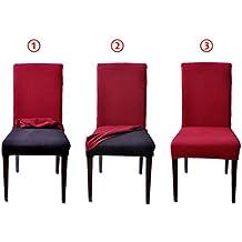 Fundas para sillas de comedor - Fundas asiento sillas comedor ...