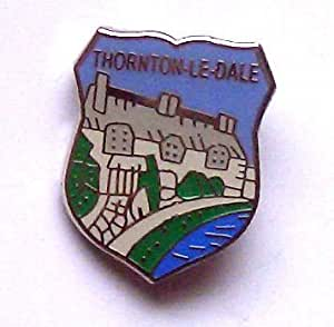 Thornton-Le-Dale Enamel Lapel Pin Badge