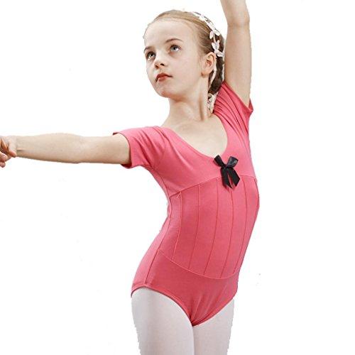 Byjia Ballett Tanz Mädchen Kleid Kinder Bühnen Studenten Gruppe Team Gymnastik Praxis Match Kleidung Kindergarten Kinder Prinzessin Leistung Kostüme Party Coverall 10# (Kostüme Von 10 Halloween Gruppe)