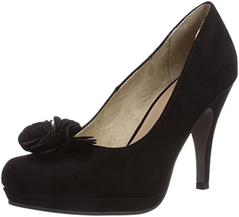 Tamaris 22432 - zapatos de tacón cerrados de lona mujer -