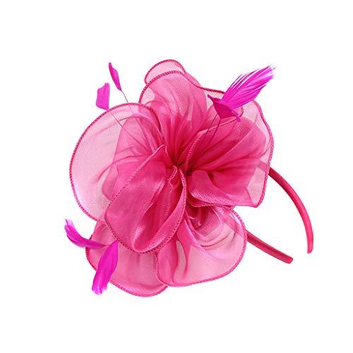 (CANDLLY Haarspange Damen, Mode Damen Flapper Great Gatsby Stirnband Pearl Charleston Party Braut Kopfschmuck YP Kopfschmuck Zubehör)