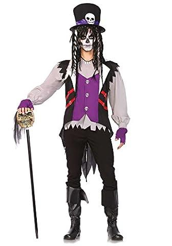 Leg Avenue Costume Homme Prêtre Vaudou Multicolore Taille