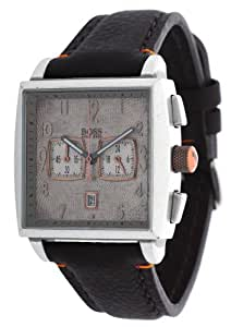Hugo Boss - 1512145 - Montre Homme - Quartz Chronographe - Chronomètre - Bracelet Cuir Marron