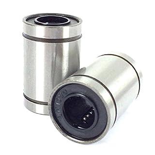 1 Los von 2 Stück - Lm8Uu - Linearführungslager 8X15X24mm 3D Cnc-Drucker 8mmx15mmx24mm Linearer Bär