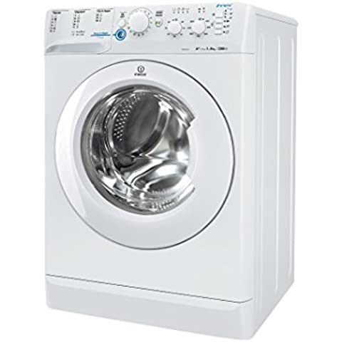 Indesit XWC 81252X W EU Independiente Carga frontal 8kg 1200RPM A++ Color blanco - Lavadora (Independiente, Carga frontal, A++, A, B, Color