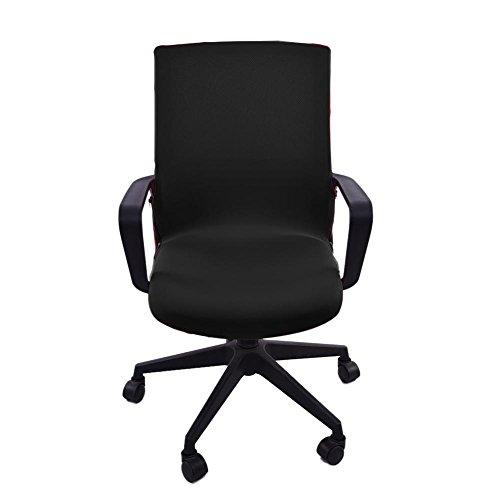 Elastischer Bürostuhl bezug Sitzbezug Bezug für Bürostuhl Husse für Bürodrehstuhl, Überzug für Bürostuhlsitzfläche, Sitzbezug