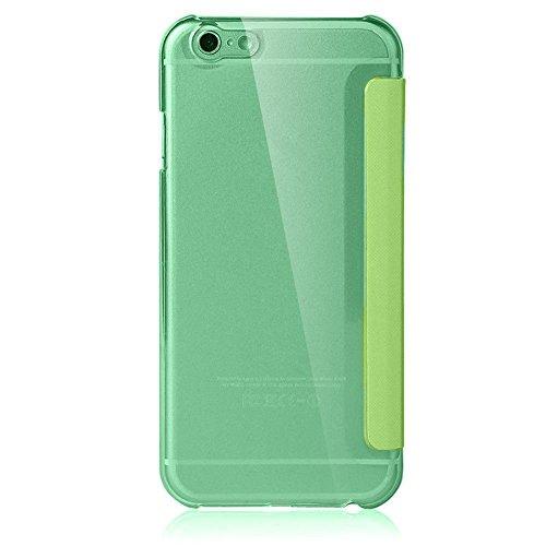 iPhone 6S Hülle, Pasonomi® [Outdoor] [Heavy Duty] [Dual Layer] Ultra-dünne Schutzhülle Case Cover mit Ständer für Apple iPhone 6 (2014) / iPhone 6S (2015) (Kickstand-Schwarz) View-Grün