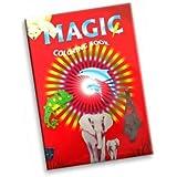 Zauber-Malbuch für Kinder, V1233 Zaubertricks zaubern Coloring Book