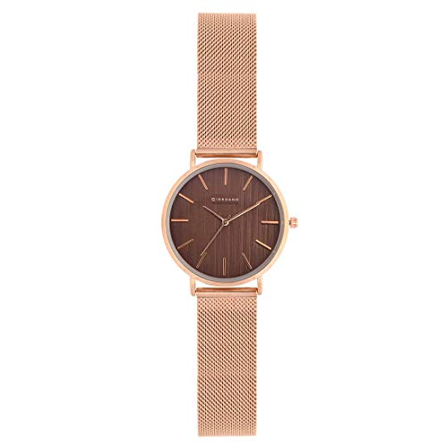 Giordano Analog Coffee Dial Women's Watch