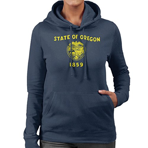 Coto7 Oregon State Flag Women's Hooded Sweatshirt