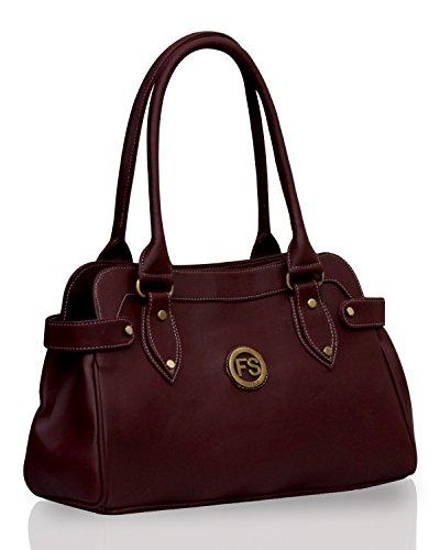 Fostelo Women\'s Handbag Maroon (FSB-391)