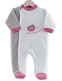 PROMO Pyjama naissance J'aime Maman et Papa - Les Kinousses