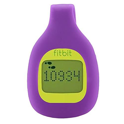 Allshopstock (#15) Smartwatch Clip Style Silikon Hülle, For Fitbit Zip Size: 5.2x3.2x1.3cm (Purple)