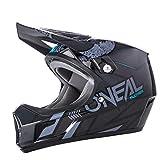 O'Neal Sonus Strike DH Fahrrad Helm schwarz/grau 2018 Oneal: Größe: L (59-60cm)