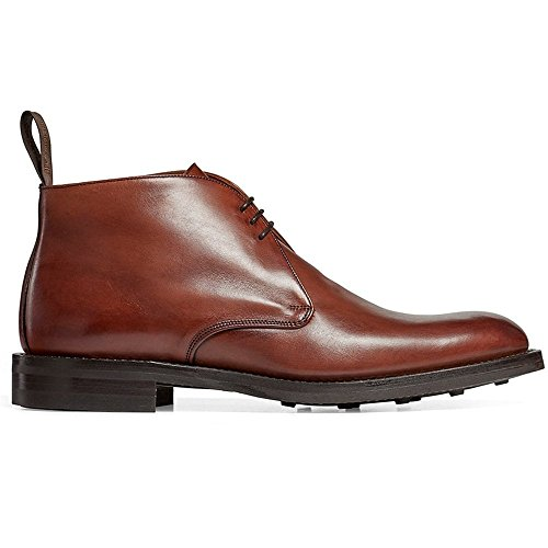 Cheaney Jackie III R Chukka Boot in Burnished Dark Leaf Calf Leather UK 9 F