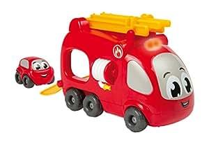Smoby 120206 - Vroom Planet - Camion Pompier Électronique + 1 Mb