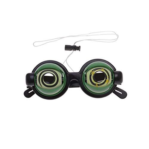 Verrückte Augen Kostüm - Toyandona Lustige Augenbrille, Augenbrauenbrille, verrückte Augen,