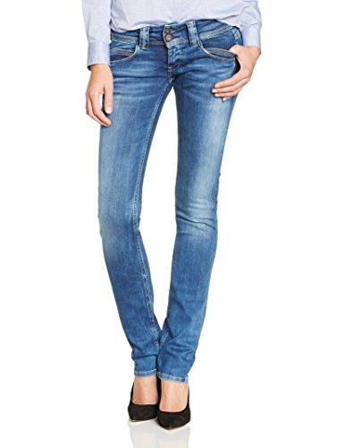 Pepe Jeans Venus, Donna, Blu (Denim 000-d24), W29/L32 (Taglia Produttore: 29)