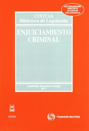 Enjuiciamiento Criminal (Biblioteca de Legislación)