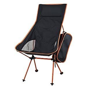 KING DO WAY Fischen Stuhl klappstuehle Faltbare Platz Fuer Picknick wandern die Camping Garten Grill Strand Patio Outdoor und Indoor aktivitaeten Liegestuhl