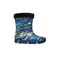 Zetpol Junior Wellies Fleece lined Aquarius 05 EU 29/30 UK 13