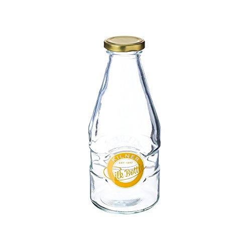 Kil Milk Bottle 1 Pint 568Ml - Deckel Twist Flasche Milch Mit