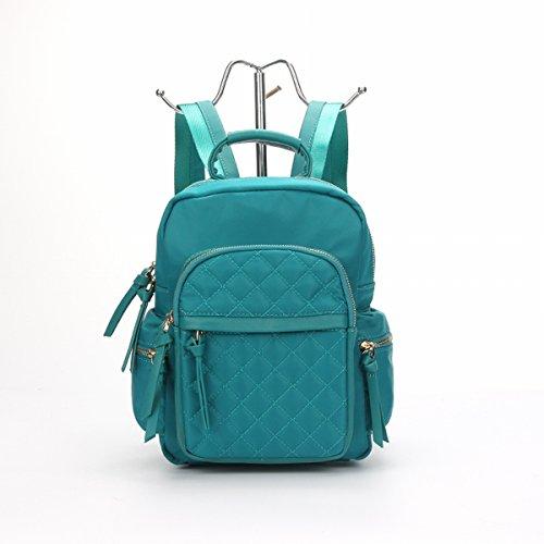 Schulter frauen Pu rucksack mode tasche Oxford taschen student rucksack Grün