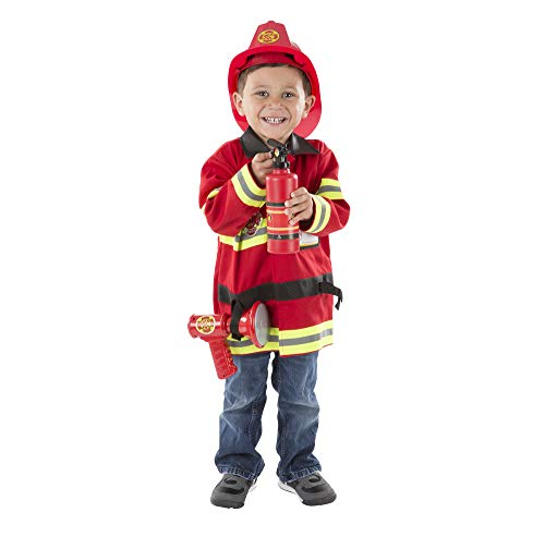 feuerwehrmann kostuem 116 Melissa & Doug Kinderkostüm Feuerwehrmann