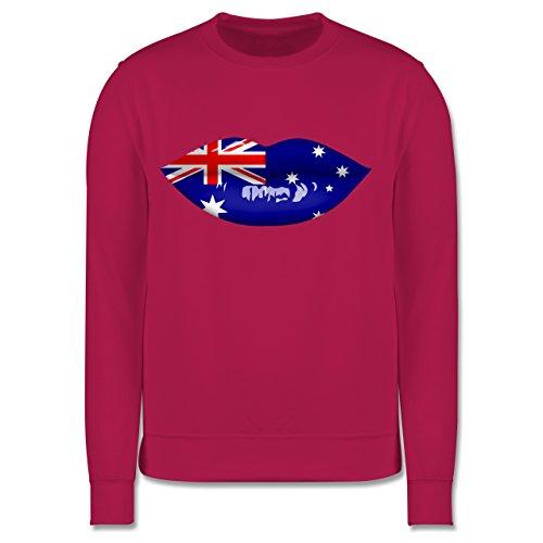 Städte & Länder Kind - Lippen Bodypaint Australien - 3-4 Jahre (104) - Fuchsia - JH030K - Kinder Pullover -