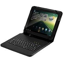 Woxter TB26-097 - Funda con teclado USB para tablet de 9.7 pulgadas, color negro