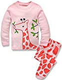 Best Christmas Gifts For Toddlers - Girls Pyjamas Set Toddler Clothes 100% Cotton Sleepwear Review